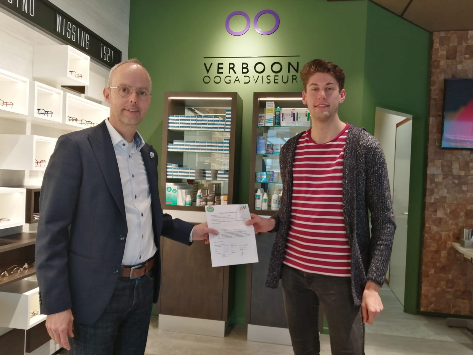 Contractverlenging Verboon
